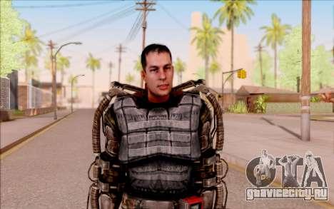 Дегтярёв в экзоскелете из S.T.A.L.K.E.R. для GTA San Andreas второй скриншот