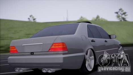 Mercedes-Benz W140 для GTA San Andreas вид слева