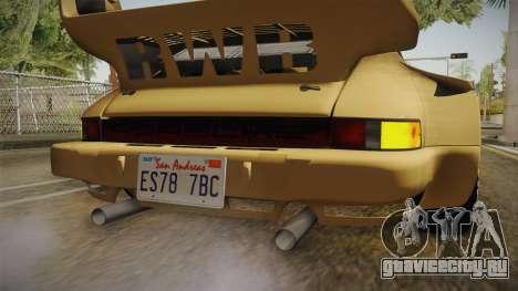 Porsche 911 Carrera RSR для GTA San Andreas салон