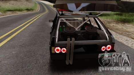 VAZ 2109 Tuning MTA для GTA San Andreas вид слева