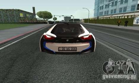 BMW i8 Armenian для GTA San Andreas вид справа