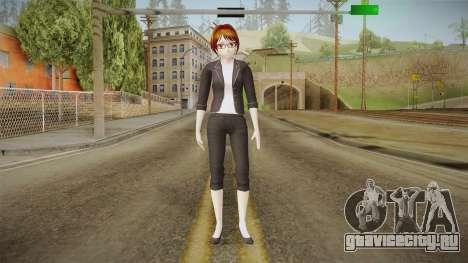 Yandere Simulator - Rino Fuka Skin для GTA San Andreas второй скриншот
