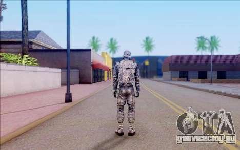 Капитан Иванцов из S.T.A.L.K.E.R для GTA San Andreas пятый скриншот