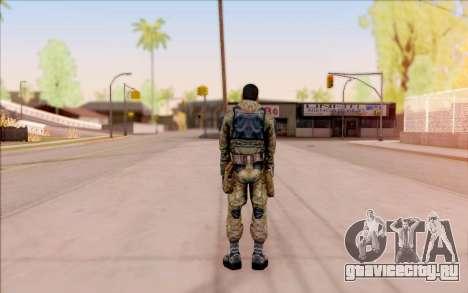 Вано из S.T.A.L.K.E.R. в комбинезоне Свободы для GTA San Andreas пятый скриншот