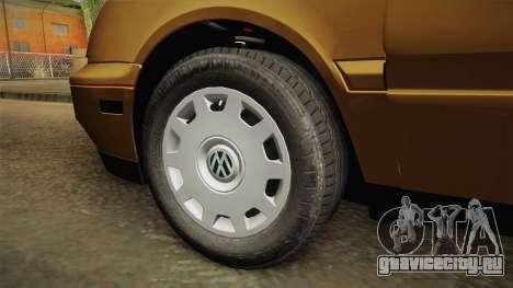 Volkswagen Jetta 1995 для GTA San Andreas вид сзади
