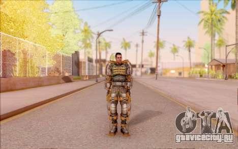 Дегтярёв в экзоскелете Свободы из S.T.A.L.K.E.R. для GTA San Andreas второй скриншот