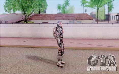 Капитан Иванцов из S.T.A.L.K.E.R для GTA San Andreas четвёртый скриншот