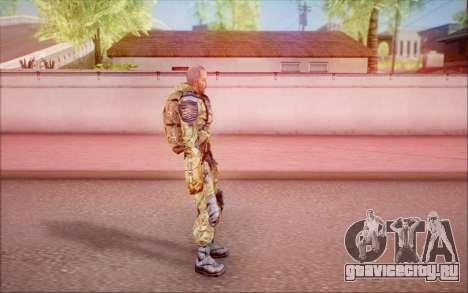 Кэп из S.T.A.L.K.E.R для GTA San Andreas четвёртый скриншот