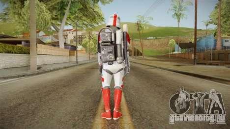Star Wars Battlefront 3 - Shocktrooper для GTA San Andreas третий скриншот