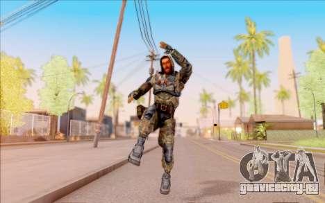 Славен из S.T.A.L.K.E.R. для GTA San Andreas шестой скриншот