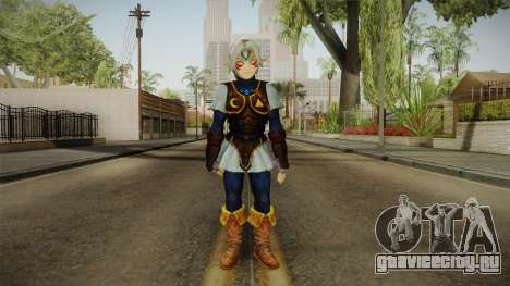 Hyrule Warriors - Fierce Deity Link Skin для GTA San Andreas