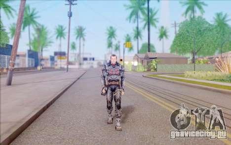 Генерал Воронин из S.T.A.L.K.E.R для GTA San Andreas второй скриншот