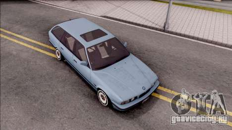 BMW M5 E34 Touring Slammed 1995 для GTA San Andreas вид справа