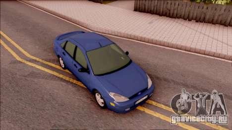 Ford Focus Sedan 2000 для GTA San Andreas вид справа