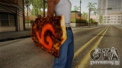 Hyrule Warriors - Deku Shield для GTA San Andreas третий скриншот