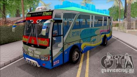 New Khan Bus G для GTA San Andreas