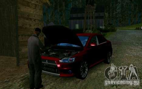 Нелегальная разборка машин для GTA San Andreas