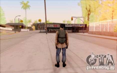 Вано из S.T.A.L.K.E.R. в кожаной куртке для GTA San Andreas пятый скриншот