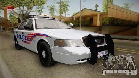 Ford Crown Victoria Police v1 для GTA San Andreas