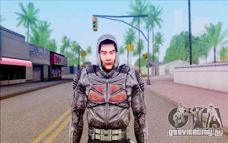 Капитан Иванцов из S.T.A.L.K.E.R для GTA San Andreas третий скриншот