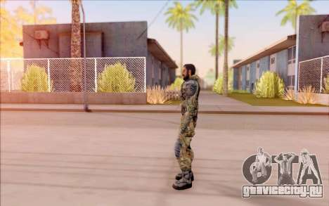 Вано из S.T.A.L.K.E.R. в комбинезоне Свободы для GTA San Andreas четвёртый скриншот