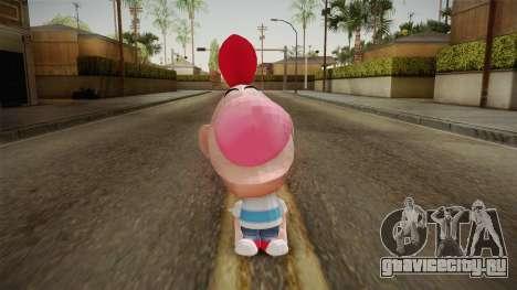 Cartoon Network Punch Time - Billy Skin для GTA San Andreas