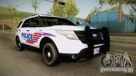 Ford Explorer 2013 Police для GTA San Andreas