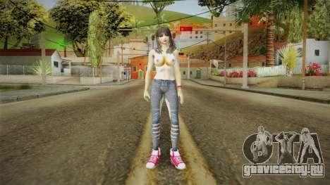 Naoto Nude Skin для GTA San Andreas