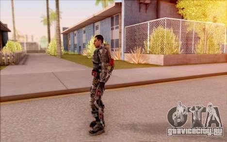 Дегтярёв в экзоскелете из S.T.A.L.K.E.R. для GTA San Andreas четвёртый скриншот