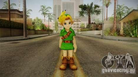 Hyrule Warriors - Young Link Skin для GTA San Andreas второй скриншот