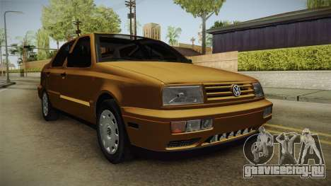 Volkswagen Jetta 1995 для GTA San Andreas вид сзади слева