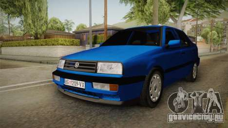 Volkswagen Vento TDI для GTA San Andreas вид сзади слева