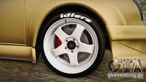 Porsche 911 Carrera RSR для GTA San Andreas вид сзади