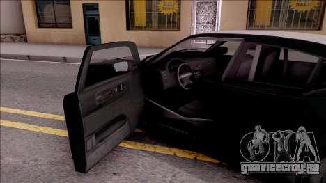 GTA V Bravado Buffalo Edition для GTA San Andreas вид изнутри
