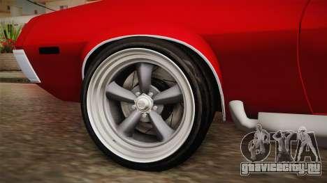 Ford Gran Torino 1972 v1 для GTA San Andreas вид сзади
