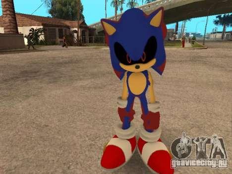 Sonic EXE для GTA San Andreas