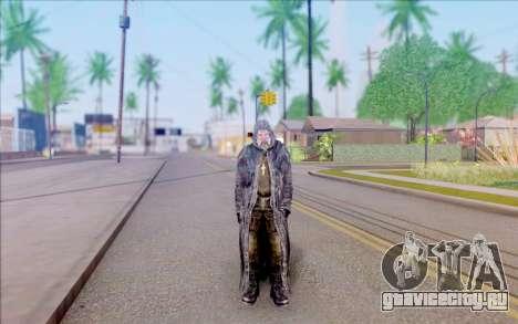 Отец Виталий из S.T.A.L.K.E.R. для GTA San Andreas второй скриншот