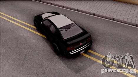 GTA V Bravado Buffalo Edition для GTA San Andreas вид сзади