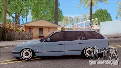 BMW M5 E34 Touring Slammed 1995 для GTA San Andreas вид слева