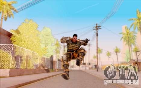 Дегтярёв в экзоскелете Свободы из S.T.A.L.K.E.R. для GTA San Andreas шестой скриншот