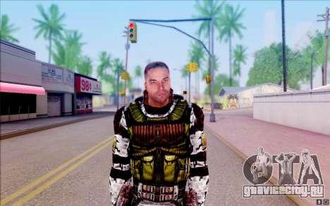 Бродяга из S.T.A.L.K.E.R для GTA San Andreas пятый скриншот