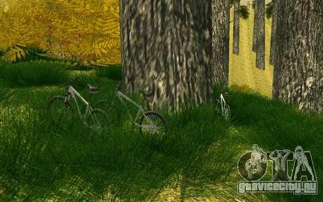 Вечеринка велотуристов на природе для GTA San Andreas
