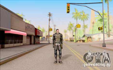 Дегтярёв в бронежилете из S.T.A.L.K.E.R. для GTA San Andreas второй скриншот