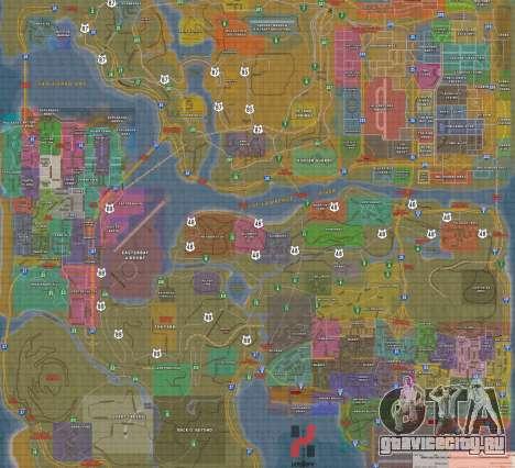 Happy MAP для GTA San Andreas