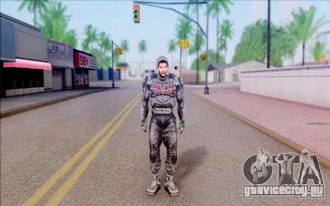 Капитан Иванцов из S.T.A.L.K.E.R для GTA San Andreas второй скриншот