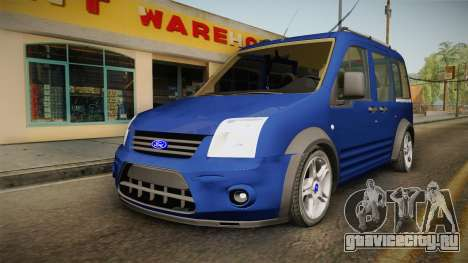 Ford Tourneo Connect 2012 для GTA San Andreas