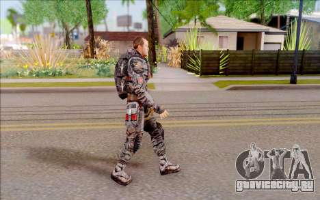 Генерал Воронин из S.T.A.L.K.E.R для GTA San Andreas третий скриншот