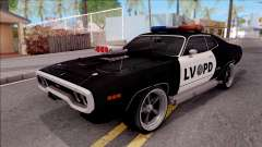 Plymouth GTX Police LVPD 1972 для GTA San Andreas