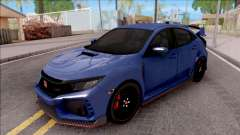 Honda Civic Type-R 2017 для GTA San Andreas