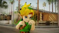 Hyrule Warriors - Young Link Skin для GTA San Andreas